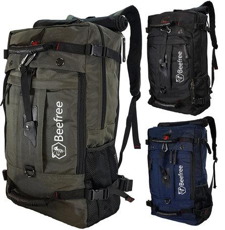 Beefree Anti diefstal rugzak| handbagage koffer | handbagage backpack | reistas | rugtas | werktas | laptoptas | schooltas | schoudertas | groen