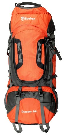 Beefree 80 Liter nylon Backpack - Oranje