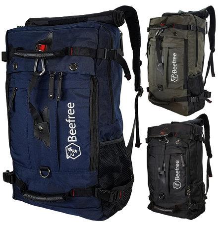 Beefree Anti diefstal rugzak| handbagage koffer | handbagage backpack | reistas | rugtas | werktas | laptoptas | schooltas | schoudertas | blauw