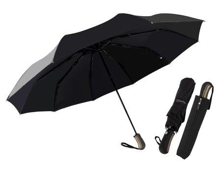 Beefree Automatische King-Size Stormparaplu Ø 123 cm - Zwart UMS-10PXL