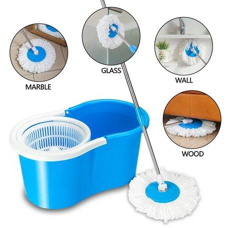 BeeClean Schoonmaak mop | Vloerwisser | Reinigingsysteem | bezem