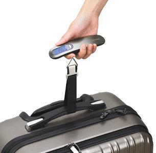 Beefree Digitale Kofferweegschaal - Bagageweegschaal – Kofferweger - Bagageweger - Luggage Scale - Kofferset - Koffers - Reiskoffer - Tot 50 KG - Nauwkeurigheid 0.01kg - Inclusief Batterijen