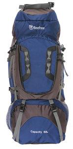 Beefree 80 Liter nylon Backpack - Blauw